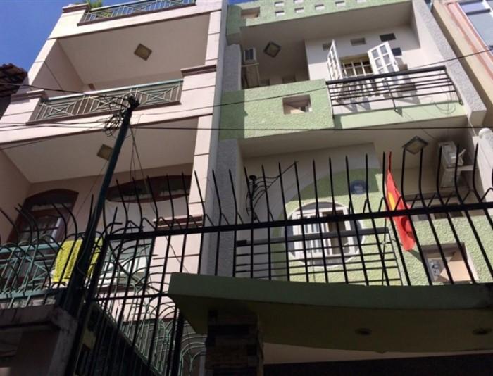 Bán nhà hẻm  3.5m,Trần  Quốc Thảo,Phường 14 Quận 3 ,4.2x11(VV)