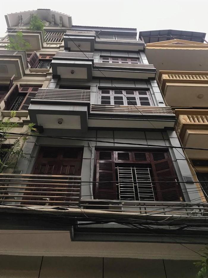 Cần Bán nhà Phố Linh Lang- Vỉa Hè Ô tô đỗ cửa 6 tầng, mặt tiền 4m