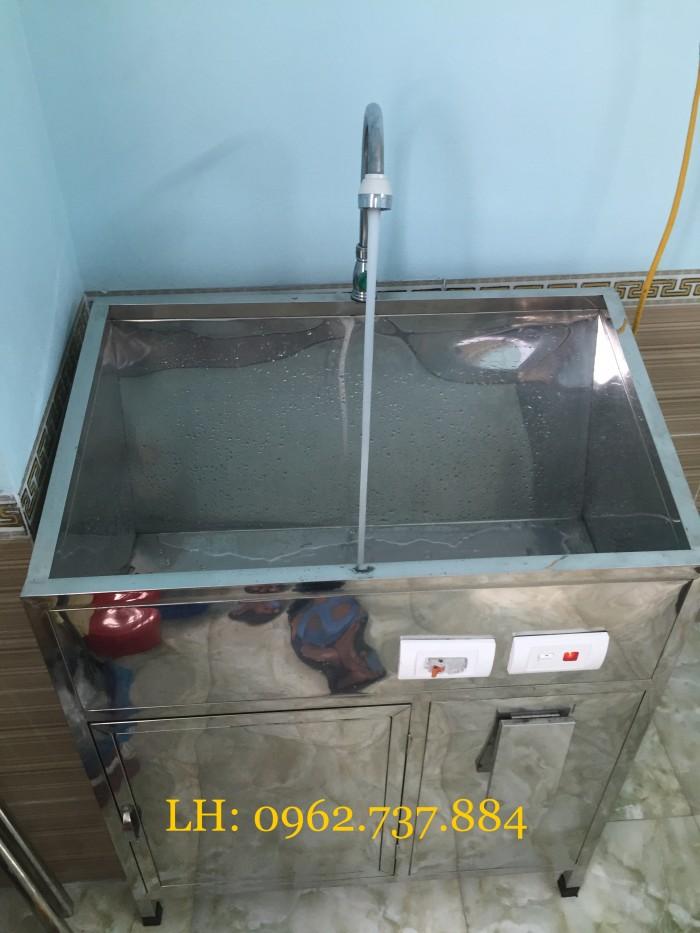 Bồn rửa tay vô trùng 1 vòi giá rẻ3