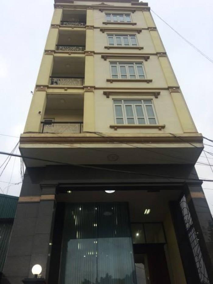 Bán tòa nhà mặt phố Yết Kiêu diện tích 130m2x 8 tầng, mt 7m giá 52.8 tỷ.