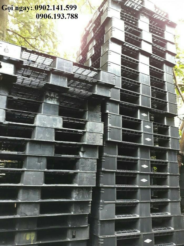 Giá pallet nhựa cũ Hà Nội 140K