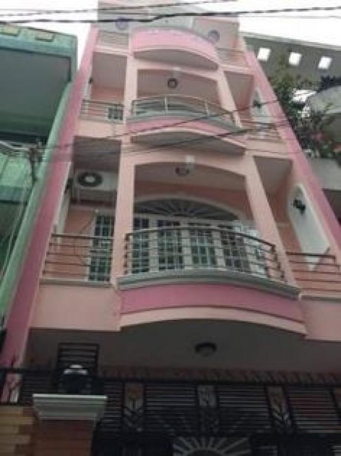Bán Nhà Khách Sạn Bùi Viện, P.Phạm Ngũ Lão, Q.1, Dt 4x17m, Trệt + 2 Lầu