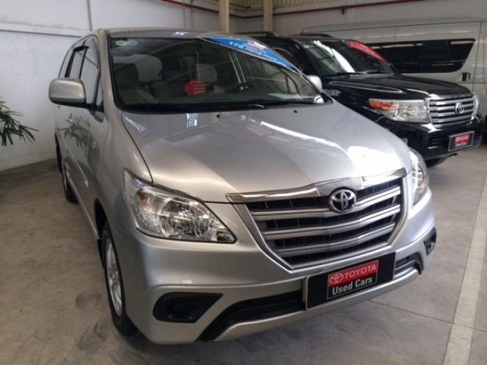 Toyota Innova Số Sàn - 2014 - Bạc 6