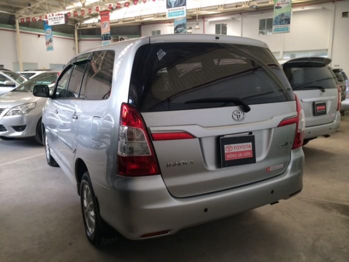 Toyota Innova Số Sàn - 2014 - Bạc 4