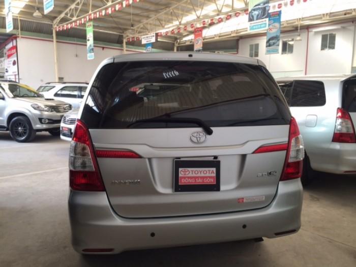 Toyota Innova Số Sàn - 2014 - Bạc 1