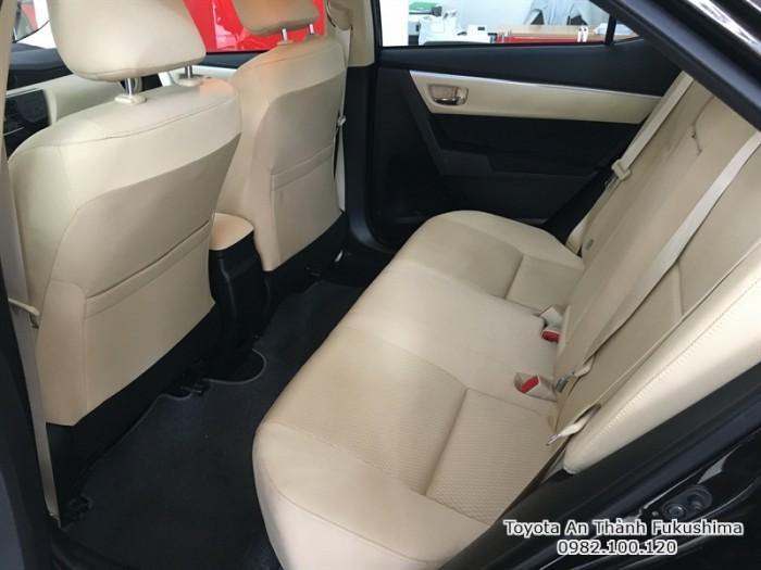 Khuyến Mãi Toyota Altis 2018 1.8 Tự Động Màu Trắng Mua Góp Với 70Tr