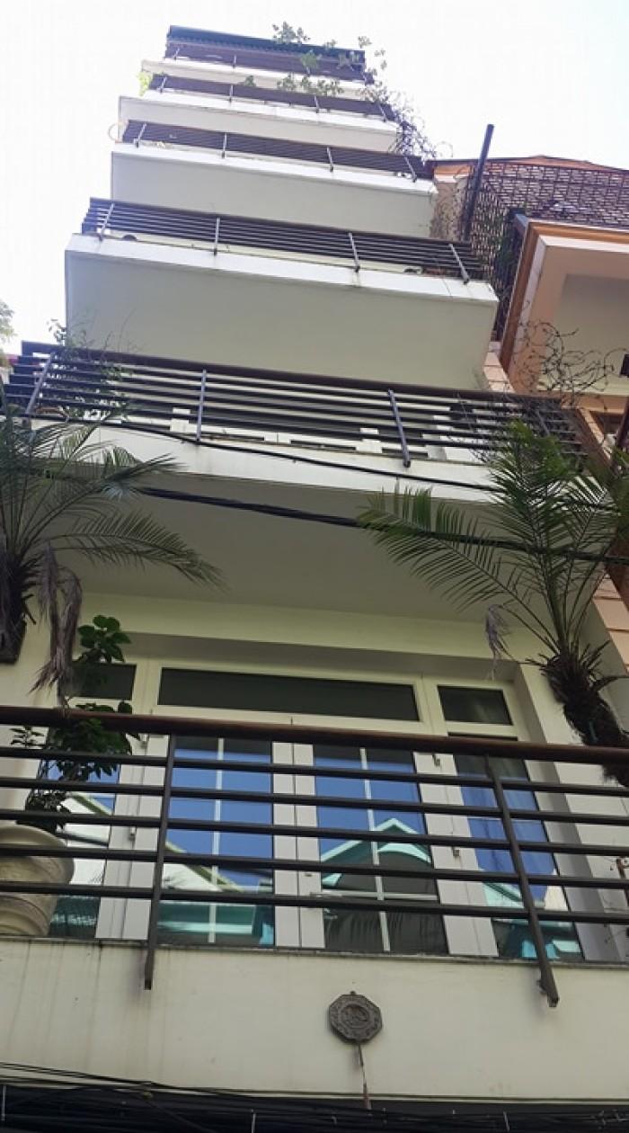 Bán nhà mặt phố Trần Cung. DT 60m2, 8 tầng, MT 4.5m