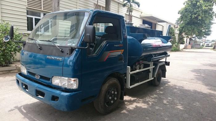Xe chở xăng dầu 2,7 khối KIA K165