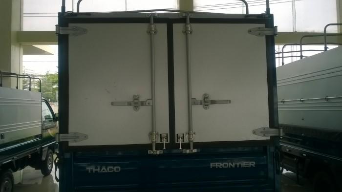 Xe tải Thaco Kia 2,4t  thùng mui bạt