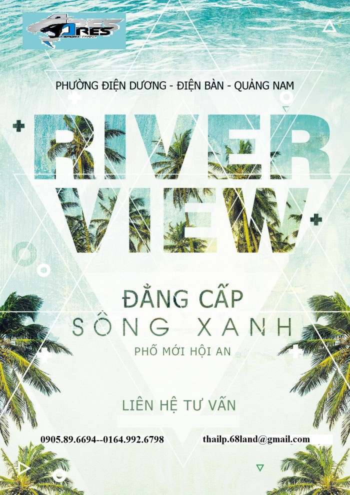 River View Khu Đô Thị Ven Sông Cổ Cò, Gần Ubnd Điện Dương