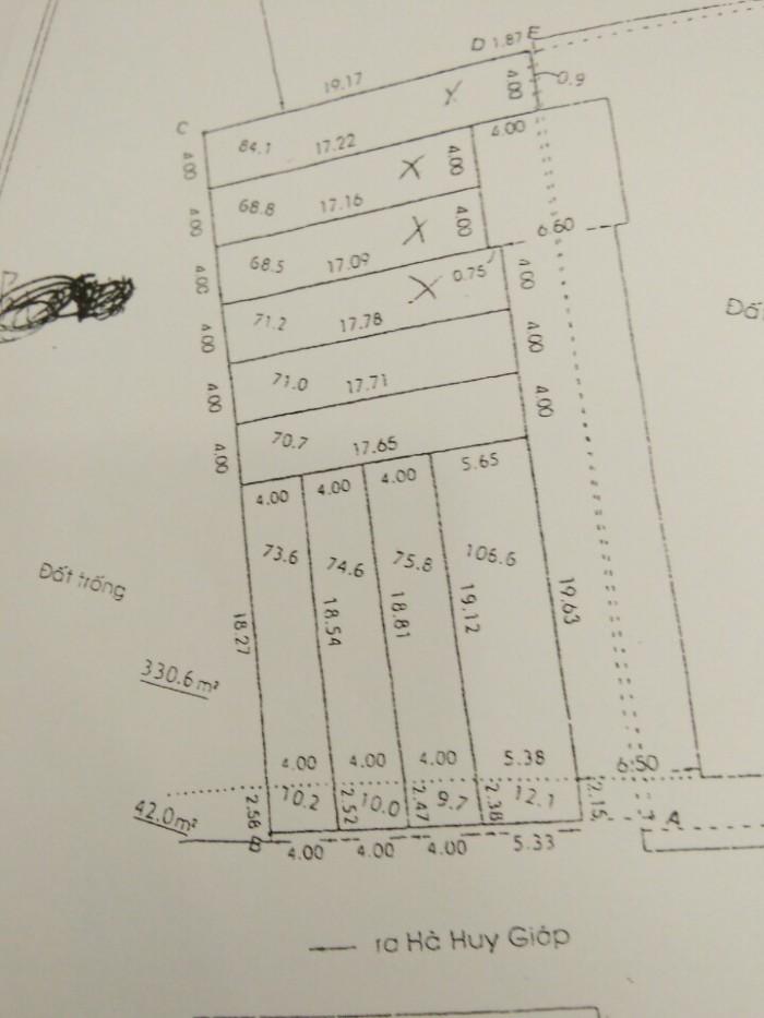 Bán đất nền tại Thạnh Lộc 29 thích hợp cho đầu tư, SHR, đường 8m