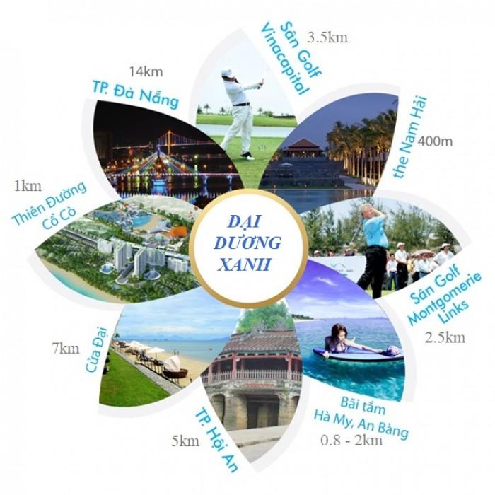 Dự án Đại Dương Xanh ven biển du lịch Đà Nẵng Hội An