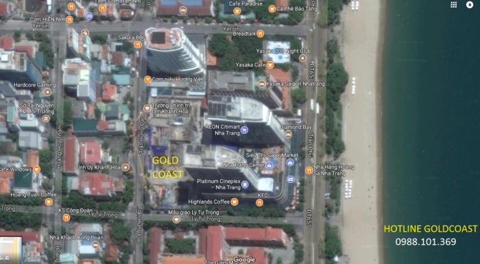 Căn Hộ Gold Coast Nha Trang Sở Hữu Vĩnh Viễn Ký HĐMB, Kèm Full Nội Thất
