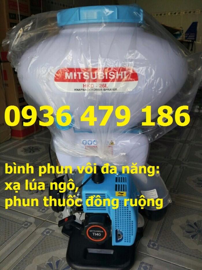 Nhà cung cấp máy phun thuốc 3 chức năng : Phun vôi, Phun hạt giống, phun thuốc sâu giá rẻ hàng uy tín