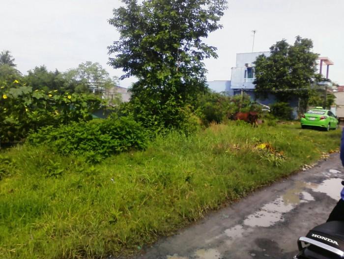 Bán đất kho xưởng 1100m2(120m2 thổ cư), đường Tân Liễu, Tân Quý Tây, Bình Chánh.