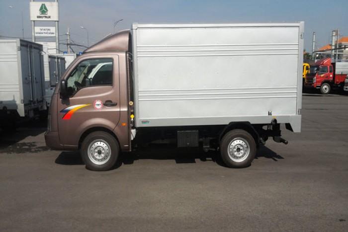 Xe tải TaTa 1T2   TaTa Ấn Độ 1t2 Thùng Kín