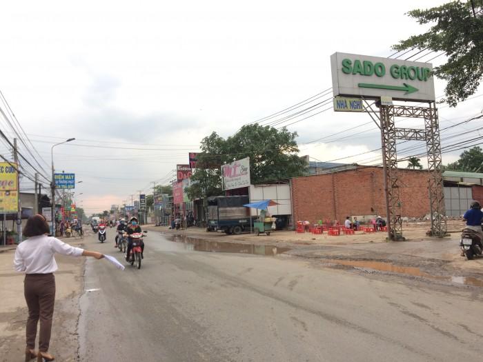 Đất nền dự án khu dân cư Sado - mặt tiền đường Phùng Hưng,Tam Phước, Biên Hòa