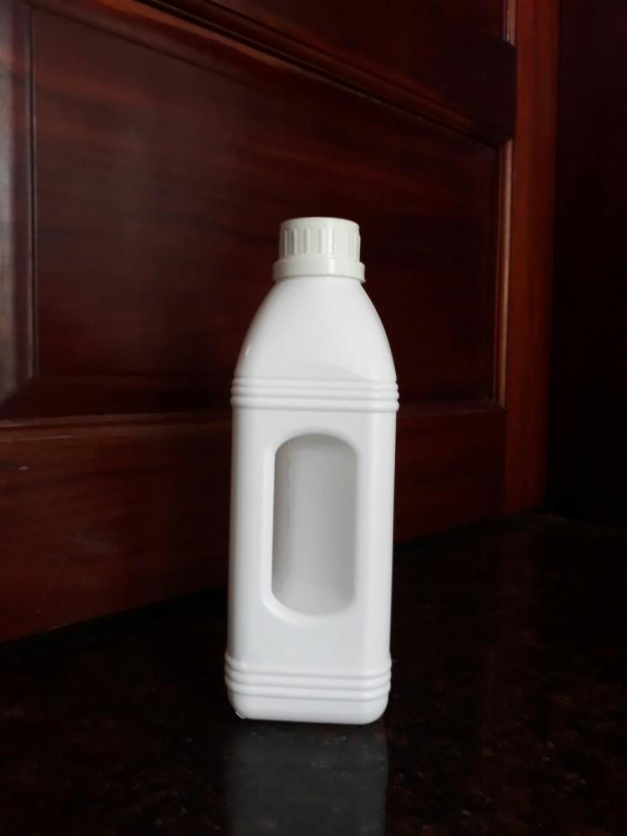 Chai nhựa hdpe 1 lít, chai nhựa đựng hóa chất, chai nhựa ngành nông dược 1 lít3
