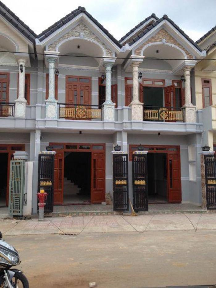 Nhà phố mặt tiền đường 20m, gần KCN Vĩnh Lộc, Phúc Long SHR