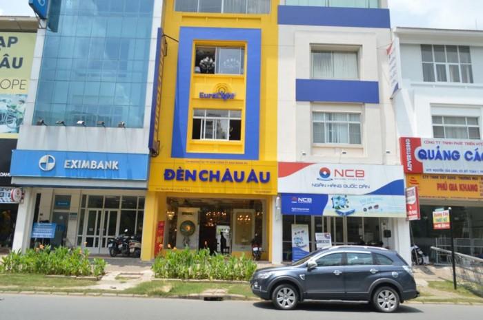 Cho thuê nhà mới xây MT Nguyễn Văn Linh, Q.7, DT: 4.5x11.5m, trệt, lửng, 5 lầu, st. Giá: 60tr/th