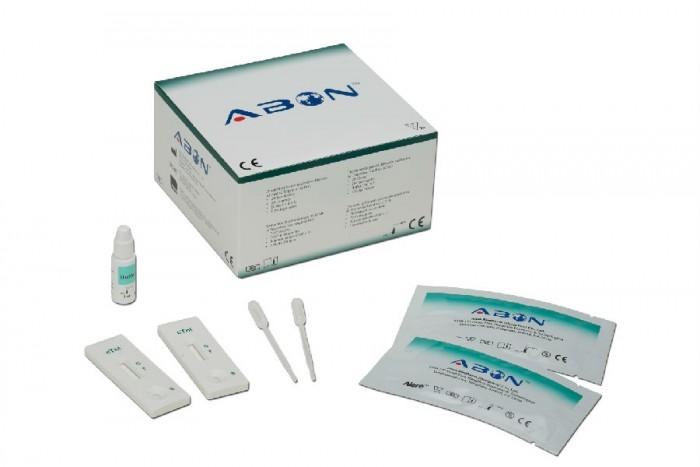 Test thử viêm gan b Hbsag Abon0