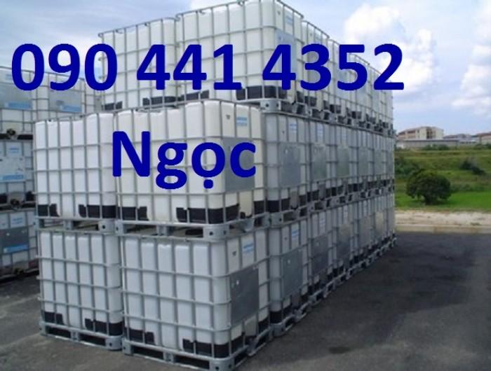 Bồn nhựa ibc 1000l đựng hóa chất đã và chưa qua sử dụng.