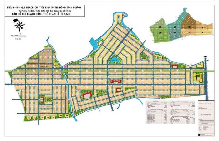 Bán đất khu đô thị Đông Bình Dương, Tân Bình, Dĩ An, Bình Dương