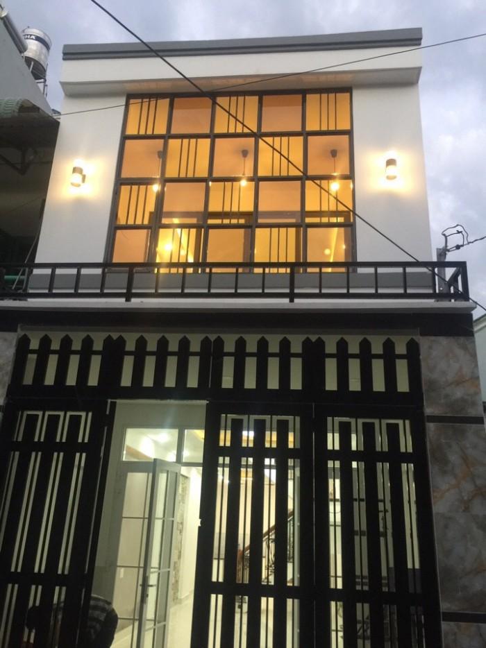 Nhà Phố Gần Chợ Bình Chánh, Kcn Vĩnh Lộc, Shr