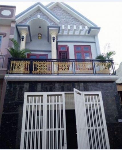 Nhà mới đẹp ngay sát mặt tiền Nguyễn Thị Tú & Hương Lộ 80, 4x15,5m