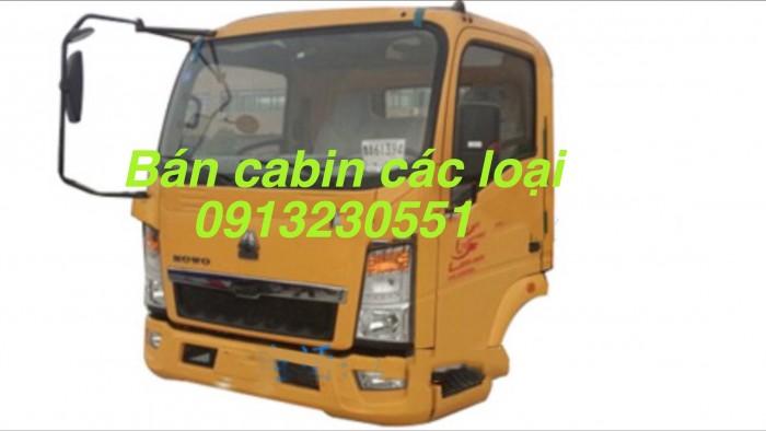 Bán đầu vỏ sọ cabin cuu long sino truck, man, dongfeng , chenglong, ollin