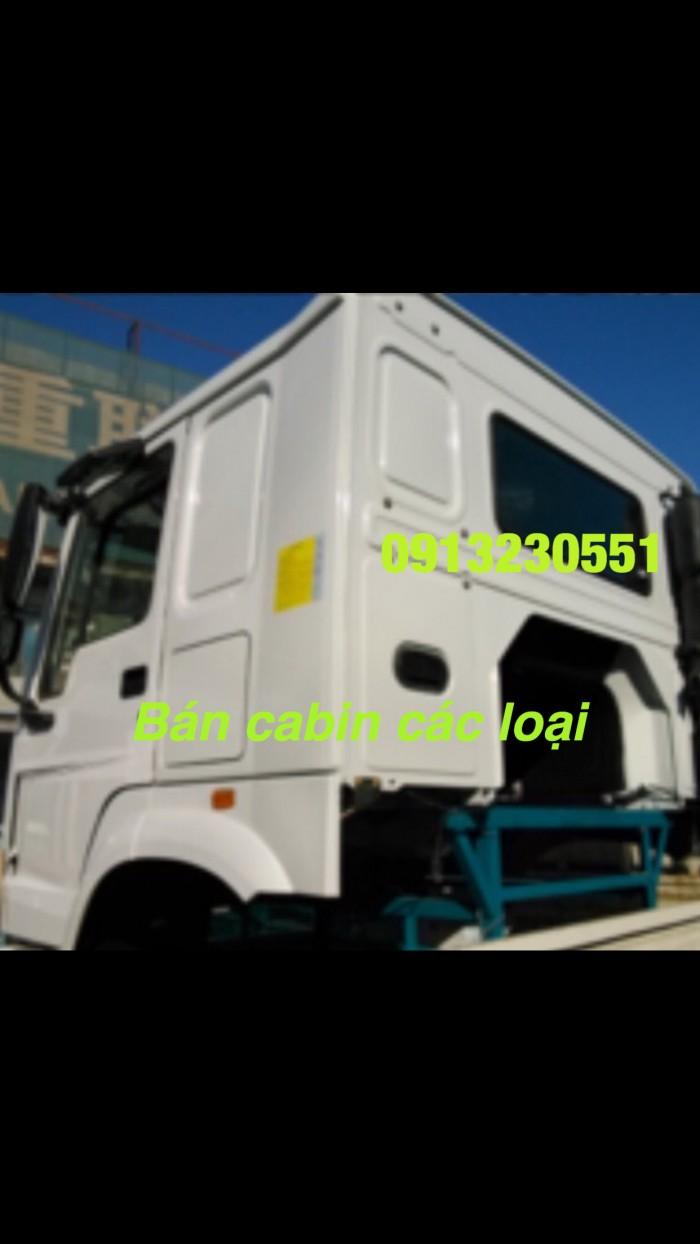 Bán đầu vỏ sọ cabin howo trắng ,trường giang, dongfeng, sino truck
