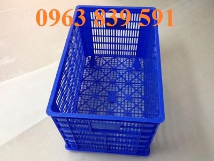 Bán rổ nhựa công nghiệp-rổ nhựa đan có bánh xe giá cạnh tranh.7
