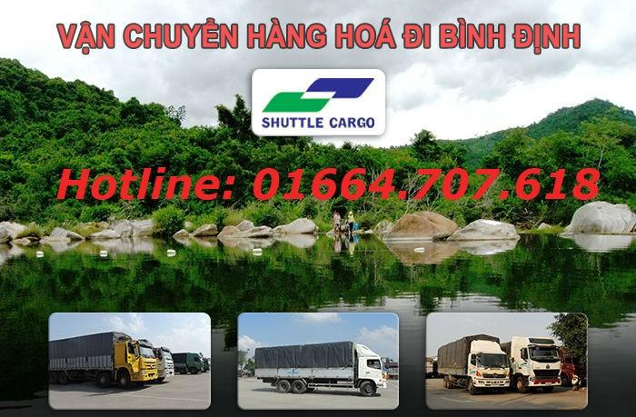 Vận chuyển hàng hóa đi Bình Định giá rẻ hơn 30%