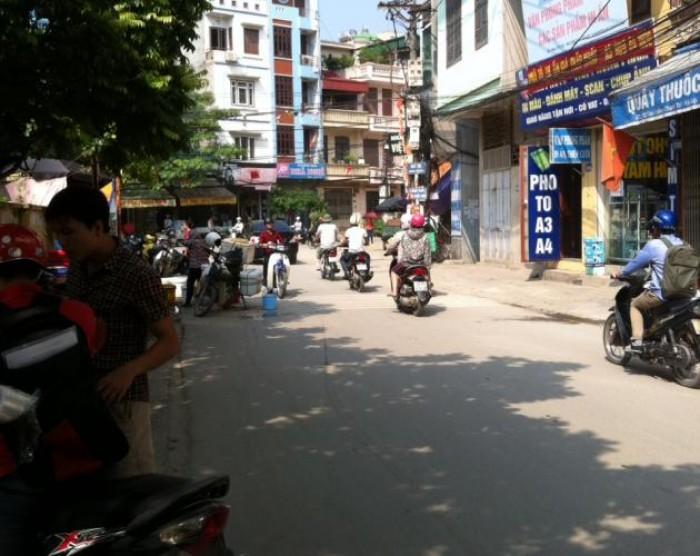 Mặt phố Văn Quán-Hà Đông 65m2, 4 Tầng, mặt tiền 6.4, vỉa hè, kinh doanh