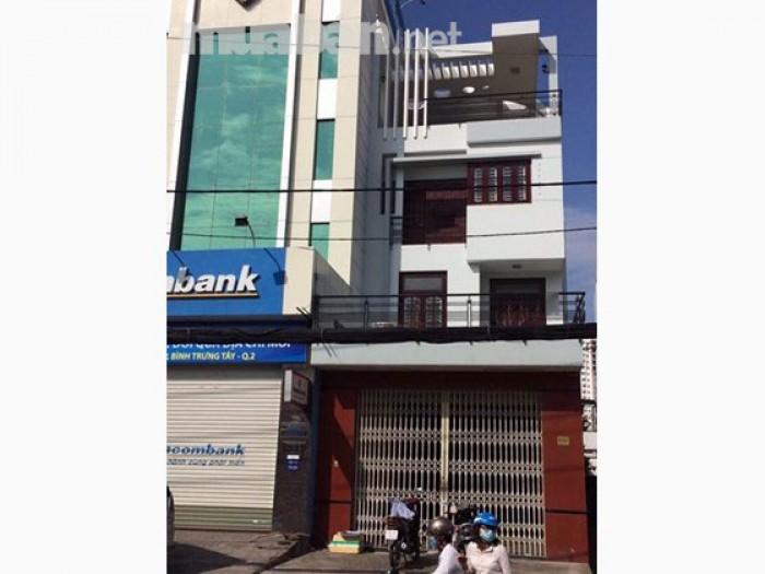 Cho thuê nhà MT Nguyễn Thị Định, Q.2, DT: 5x16m, trệt, 2 lầu.