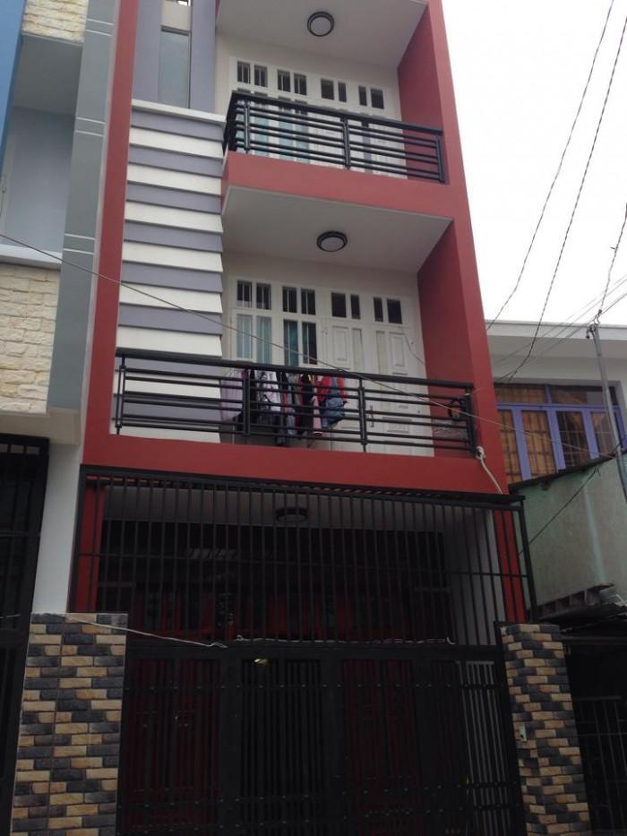 Bán nhà Mặt tiền đường Lũy Ban Bích, 4.2x16, đúc 2 lầu.