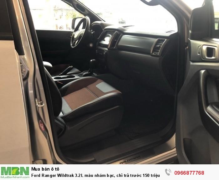 Ford Ranger Wildtrak 2.0L màu nhám bạc, chỉ trả trước 150 triệu 5