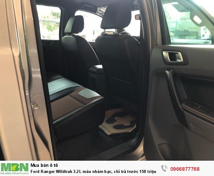 Ford Ranger Wildtrak 2.0L màu nhám bạc, chỉ trả trước 150 triệu 6