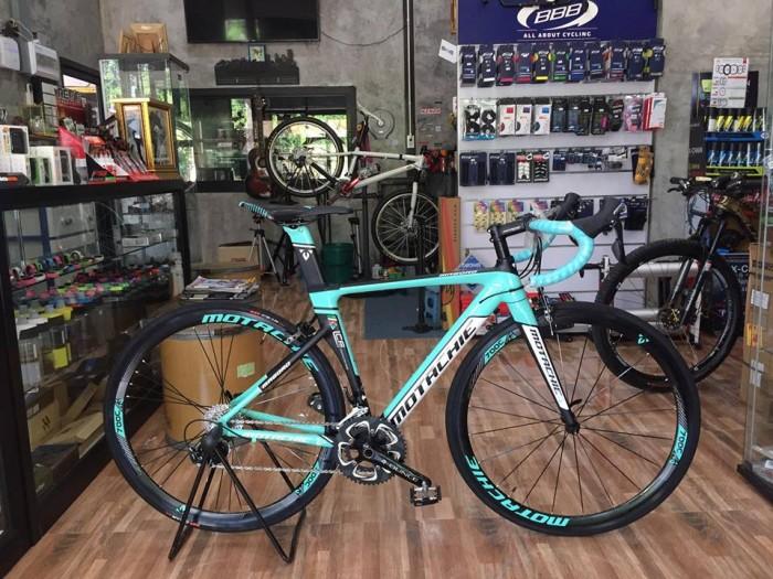 Xe đạp đua Motachie Maboro R11.1 2017, mới 100%, miễn phí giao hàng, màu Đen xanh ngọc