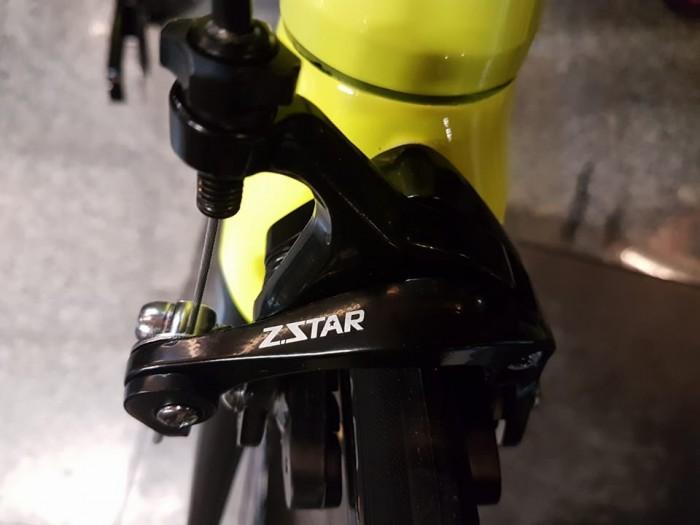 Phanh: Z-Star, hợp kim nhôm