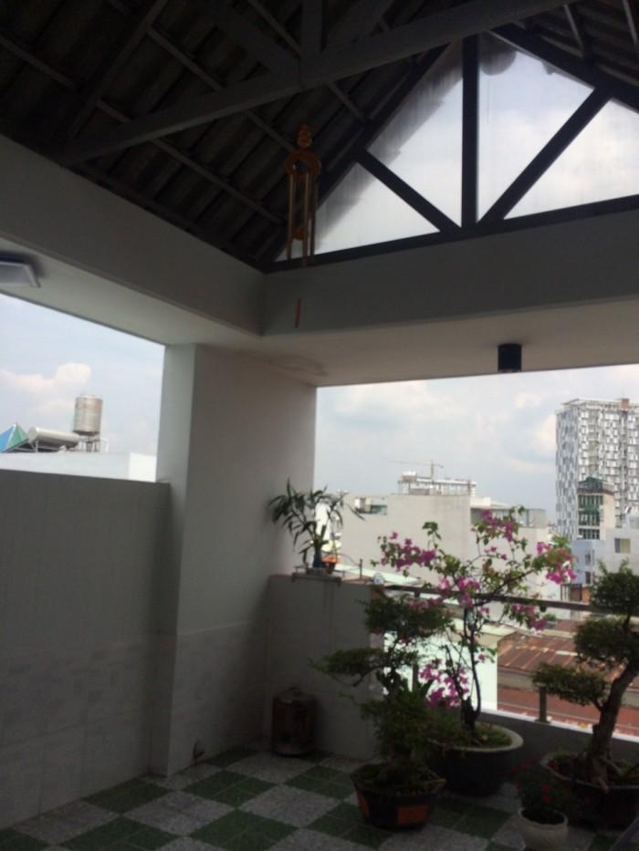 Bán Nhà Hẻm 380 Phạm văn Chiêu, phường 9, quận Gò Vấp, 4 x 14,8m, 1 Trệt + 3 Lầu