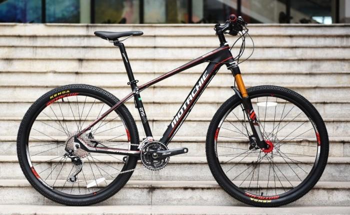 Xe đạp Motachie Whirl 1080 2017, mới 100%, miễn phí giao hàng, màu Đen đỏ