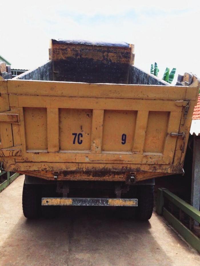 Bán xe tải ben 8 tấn DONGFENG Hoàng Huy nhập khẩu đời 2011 cầu howo 2
