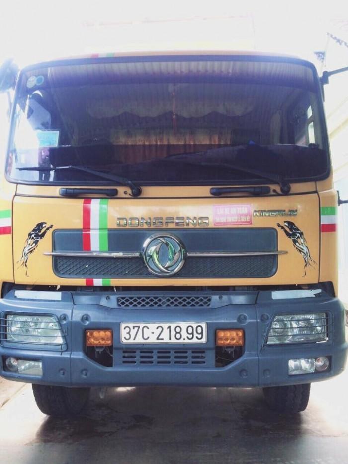 Bán xe tải ben 8 tấn DONGFENG Hoàng Huy nhập khẩu đời 2011 cầu howo 4