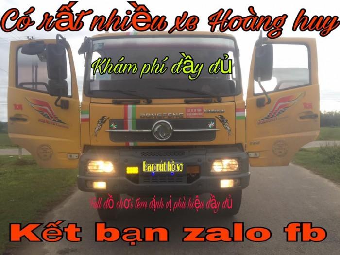 Bán xe tải ben 8 tấn DONGFENG Hoàng Huy nhập khẩu đời 2011 cầu howo 6