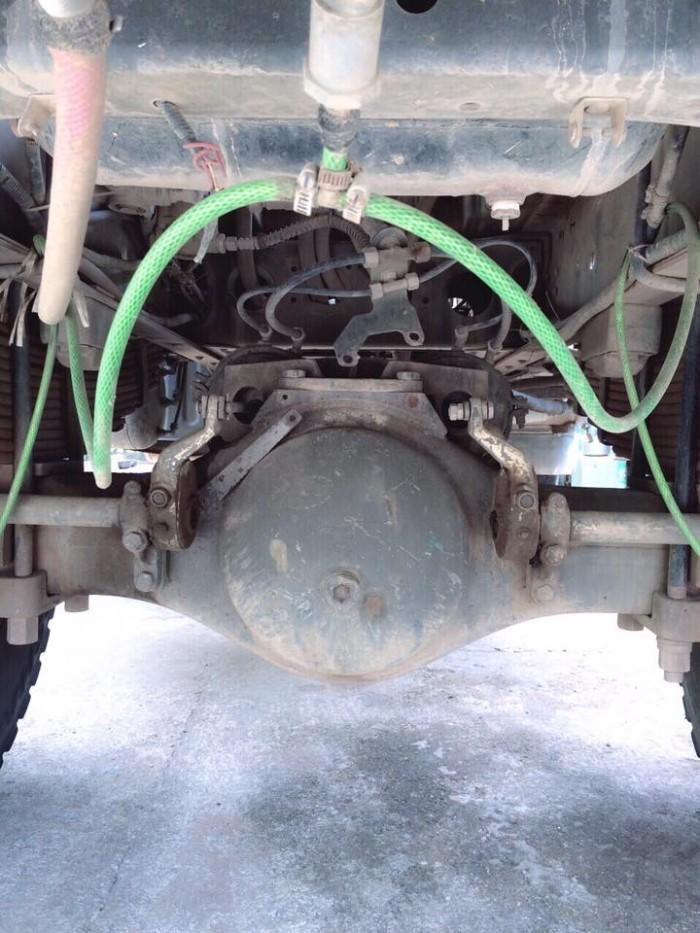Bán xe tải ben 8 tấn DONGFENG Hoàng Huy nhập khẩu đời 2011 cầu howo 1