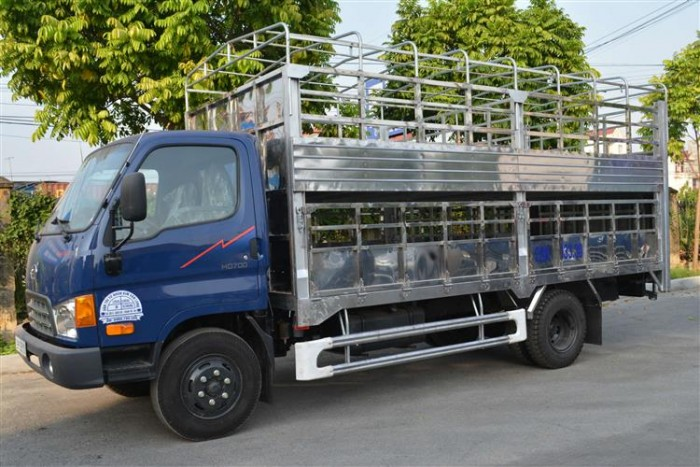 Hyundai HD700 sản xuất năm 2017 Số tay (số sàn) Xe tải động cơ Dầu diesel