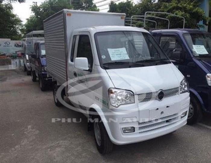 Xe tải Thái Lan 800kg thùng kín nhập khẩu EQ1021GF24Q7/VT/TK