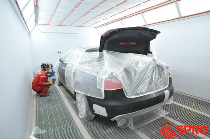 Phòng sơn ô tô phải có ở gara chuyên nghiệp 2