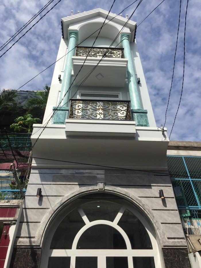 Bán nhà hẻm xe hơi 8m Nguyễn Thị Tần Q8. Diện tích 4m x 15m